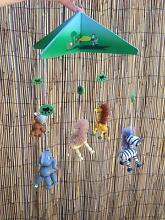 Wooden mobile jungle animals nursery Engadine Sutherland Area Preview