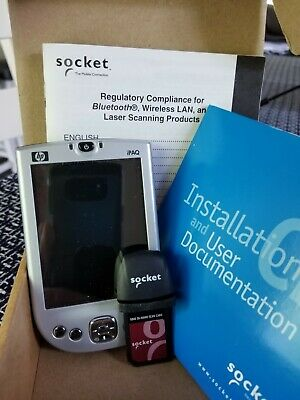 Socket Sdio In Hand Scan Card Mobile Device Scanner Plus Hp Ipaq Pda