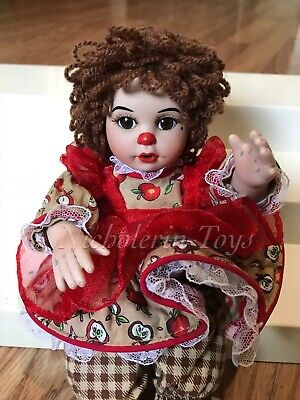 Marie Osmond Tiny Tot Rag A Muffin Doll Apple Spice ~ Charisma FREE Shipping