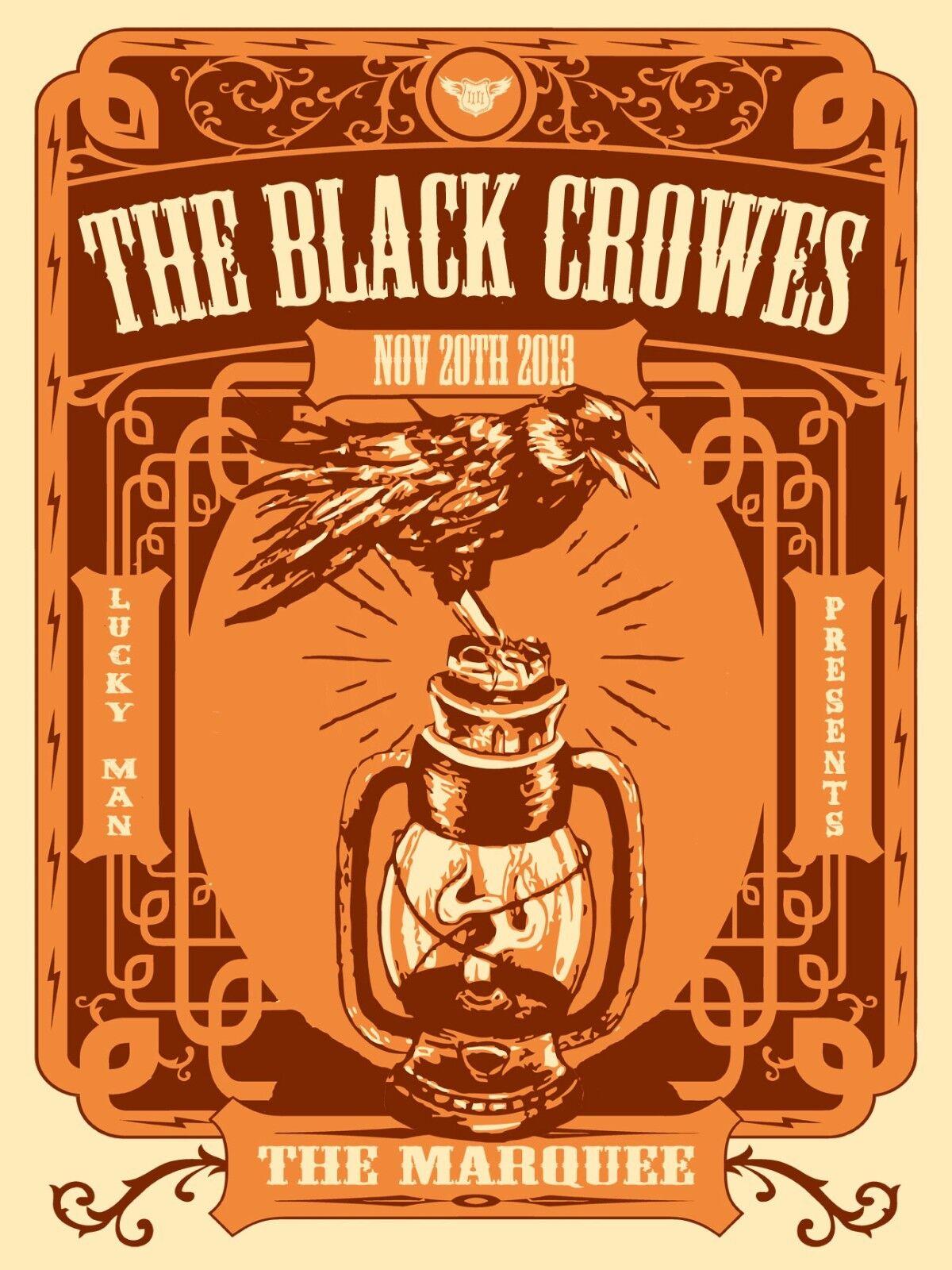 THE BLACK CROWES 2013 PHOENIX CONCERT TOUR POSTER - Blues Classic Rock Music - $10.99