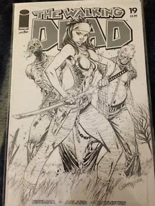 The Walking dead 15th anniversary variants Lot of 7