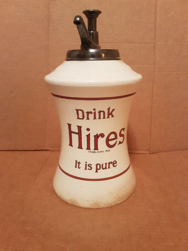 Early 1900s Hires Root Beer Soda Dispenser! Extremely Rare!
