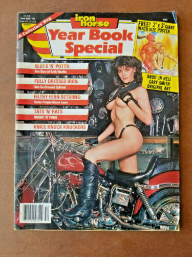 Vintage 1985 Iron Horse Yearbook Special Premiere Issue #1