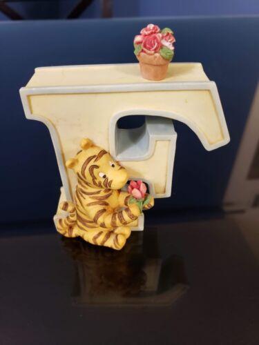 Classic Winnie the Pooh Disney Alphabet Letter, Ceramic, Michel & Co - LETTER F
