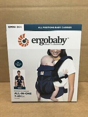 Ergobaby Omni 360 Cool Air Mesh All Carry Positions Baby Carrier - Raven