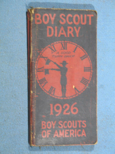 Antique Boy Scout Diary 1926 - Complete 240 Pages
