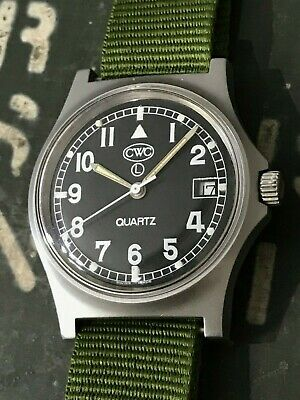 CWC G10 Navigator military watch with date indicator - good condition