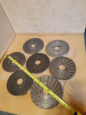 7 Dividing Plates 5 4-34 Dia Indexing Rotary Table Machinist Plates