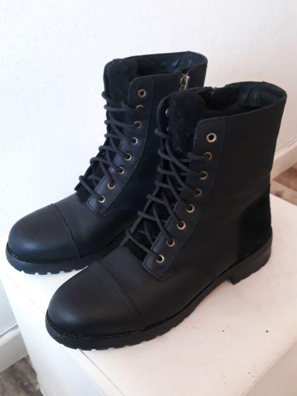 Ugg Boots (Stiefel) Schwarz Gr.40 ( Neuwertig)