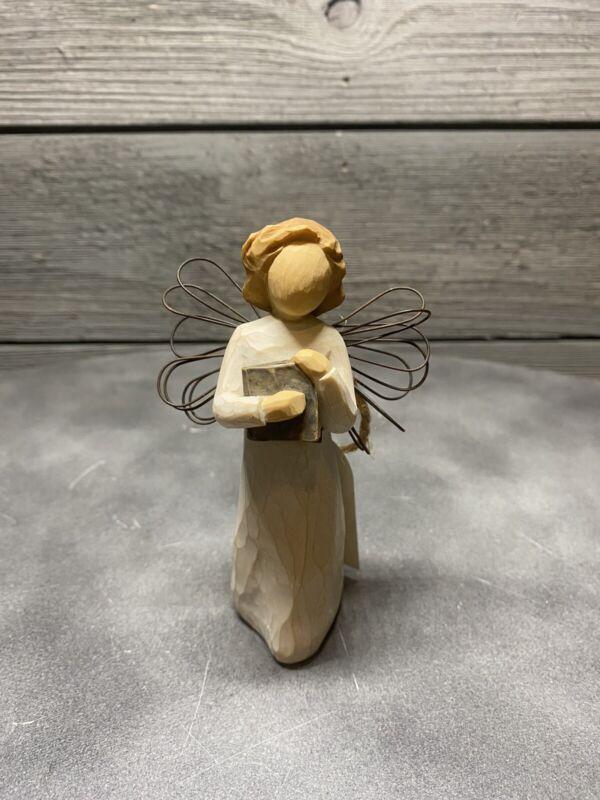 1999 Willow Tree Angel of Learning Susan Lordi Demdaco Figurine w tag teacher