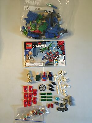 Lego Spider-Man 76114 Spider Crawler w/ Booklet **Complete**