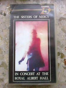 Sisters of Mercy-Wake Live at the R.A.H. - VHS 1987 - 13 canzoni x 57 minutes!-  mostra il titolo originale - Italia - Sisters of Mercy-Wake Live at the R.A.H. - VHS 1987 - 13 canzoni x 57 minutes!-  mostra il titolo originale - Italia