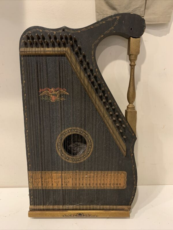 ANTIQUE J. COBE Zither , Patented May 29, 1894