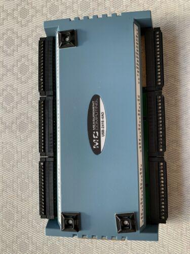 Measurement Computing MCC USB-2416-4AO 24-bit, isolated DAQ in working condition
