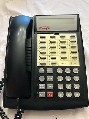 Avaya Partner Euro 18d Series 2 Phone For Lucent Acs System- New Keys Hand Set