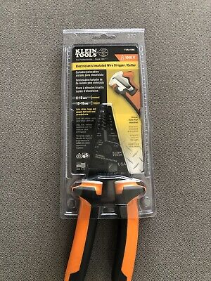 Klein Tool Electricians Insulated Wire Stripper And Cutter 1000v