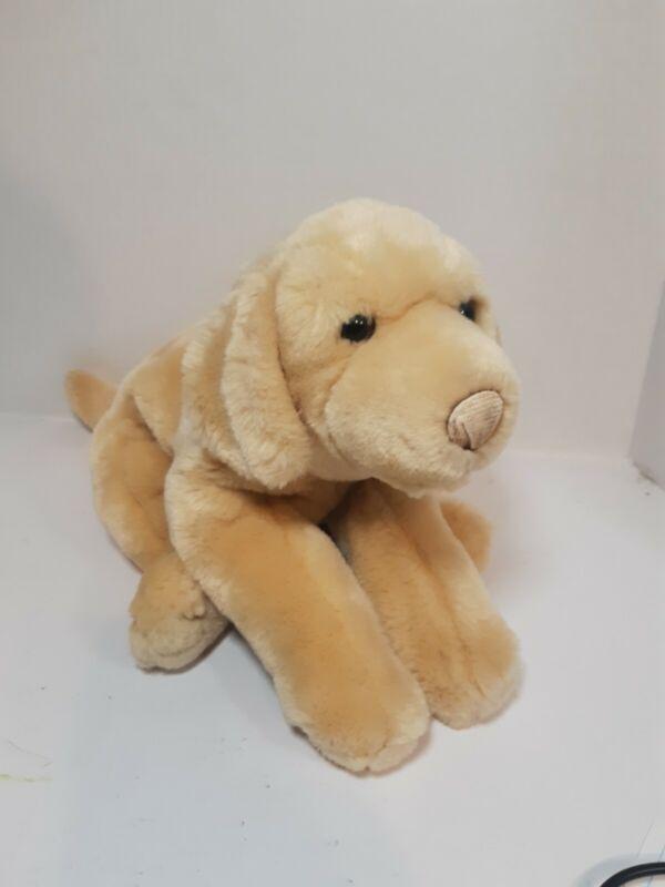 "Animal Alley Yellow Labrador Dog Plush Stuffed Animal Toy 16"""