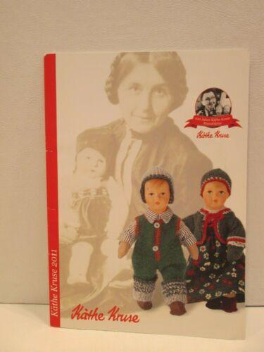 Kathe Kruse Doll Catalog 2011