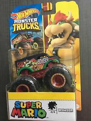 2020 HOT WHEELS SUPER MARIO MONSTER TRUCK BOWSER