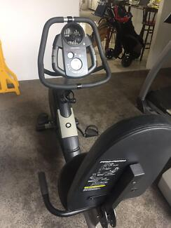 Pro-Form CrossTrainer 55 recumbent bike (with hand weights)