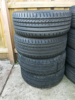 4x 205/55 R16 nearly new Tyres