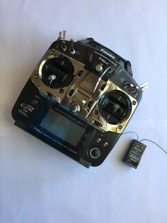 Futaba T10J RC Radio Transmitter + Receiver for RC Plane & Helicopter