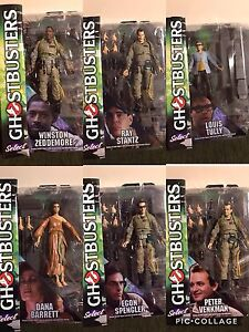 Diamond Select Ghostbusters figures Series 1 and 2