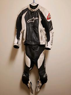 Alpinestars 2 piece suit