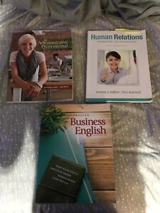 Office administration books algonquin