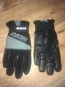 Olsons Leather curling gloves (new in bag)