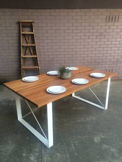 Industrial Outdoor Dining Table, Made to Order