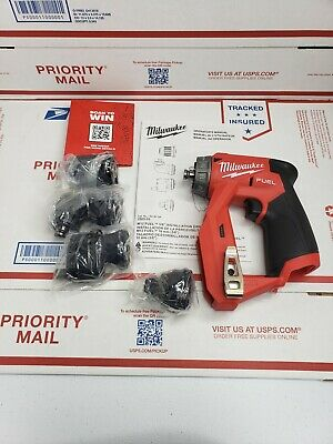 New Milwaukee 2505-20 M12 Fuel Installation Drilldriver 4-in-1 Tool Only