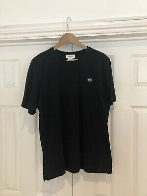Men Versace Crew Neck T-Shirt Casual Fashion Short Sleeves Stylish Black Size XL