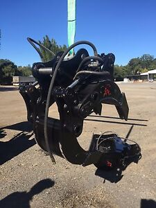 5 ton excavator grab grapple hydraulic suit 4-6 ton machines Palmwoods Maroochydore Area Preview