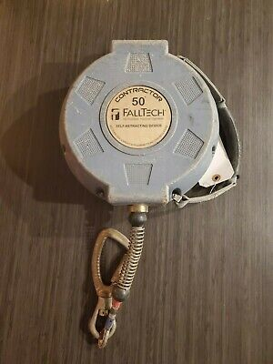 Falltech Contractor 50 Cable Self-retractable Lifeline 727650 - Used