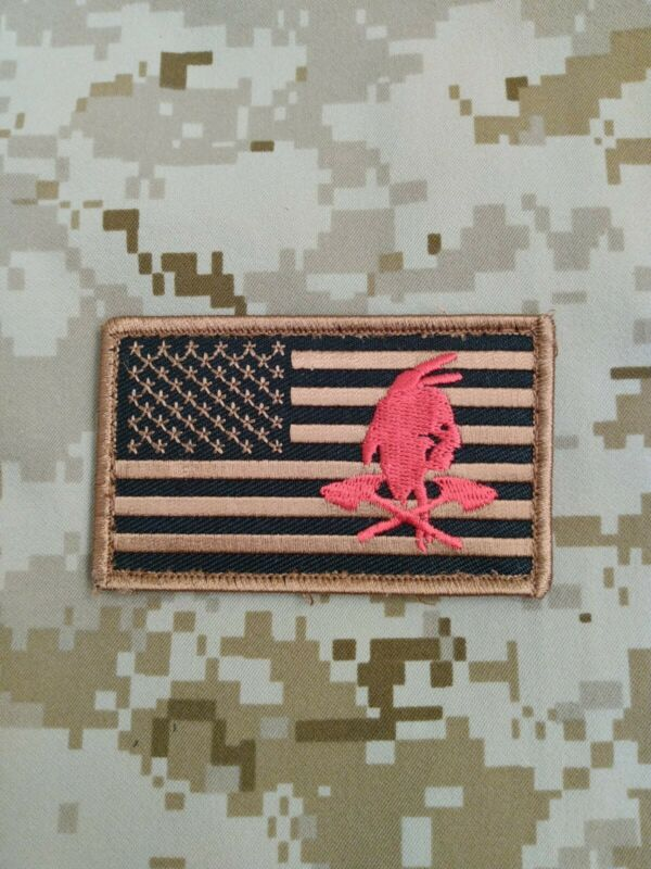 NSWDG DeVGru Red Squadron Tribe subdued earth color flag patch