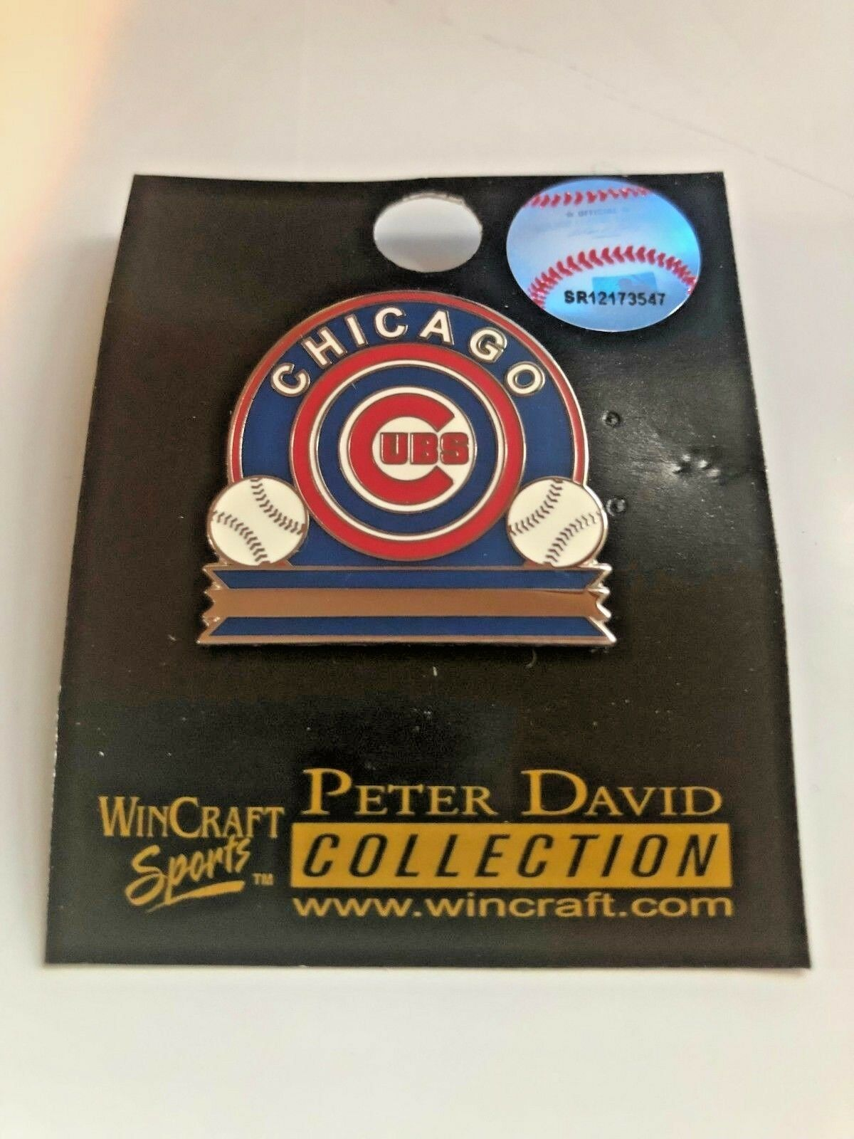 CHICAGO CUBS MLB LAPEL PIN / BUTTON -EXCELLENT QUALITY- BRAN