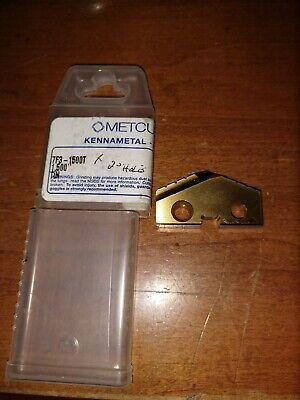 Kennametal Metcut 1-12 Tin Spade Drill Insert 7f3-1500t New