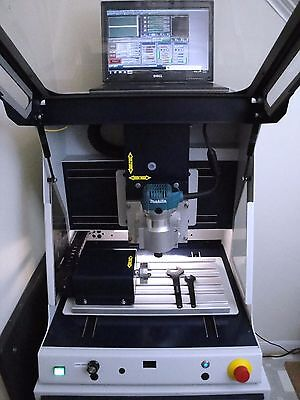 Techno Isel Cnc 4 Axis Milling Engraver Machine - Mach 3 Software