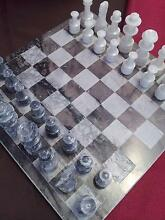 Hand Crafted Marble Chess Set $125.00 New Farm Brisbane North East Preview