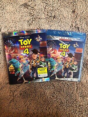 Toy Story 4 Blu-ray/DVD/Digital With Slipcover Brand New