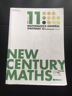 New Century - General Mathematics (Pathway 2) Preliminary Course Bankstown Bankstown Area Preview