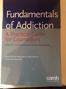 Addictions text book