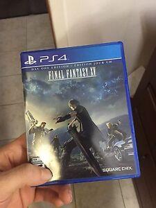 Finally fantasy 15