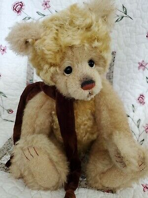 Charlie Bears Butty Isabelle Collection 2018