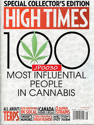 High Times May 2018  100 Most Influential People In Cannabis  Brand New Sealed