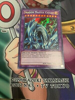 YUGIOH: Dragon Master Knight LCKC-EN065 Near Mint Secret Rare FAST