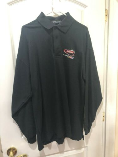 Sportmaster XL Golf Polo Shirt with Nabisco NASCAR Logo  NEW & NEVER WORN!!