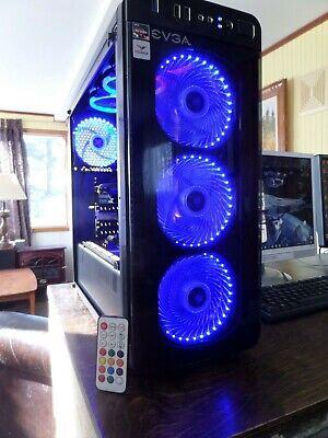 Gaming Computers Desktop PC AMD RYZEN 3 2200G, EVGA GTX 1060 6GB, 24GB RAM DDR-4