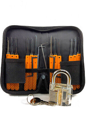 Proffesional Stainless Steel 17 Piece Set With Lock And Key